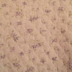 Little Me One Pieces - Vintage floral onesie 3 months with bib